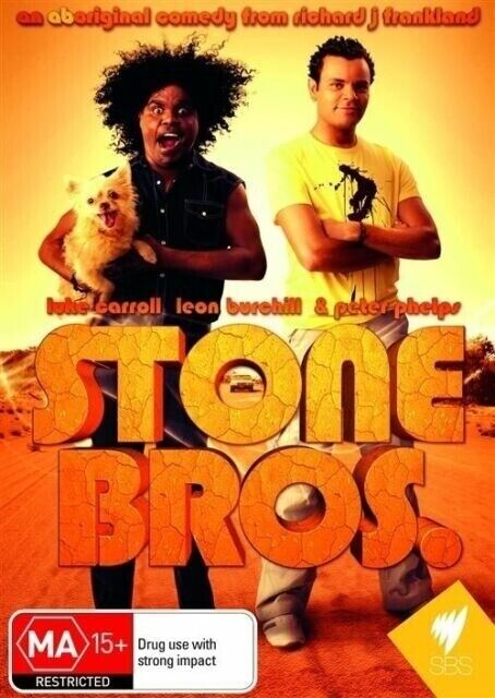 STONE BROS. DVD - Luke Carroll, Leon Burchill (Region 4) **VERY RARE**