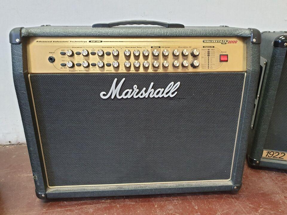 Forstærker og højtaler., Marshall Valvestate 2000avt