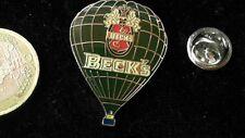 Bier Beer Pin Badge Beck´s Becks Bier Ballon Logo Emblem