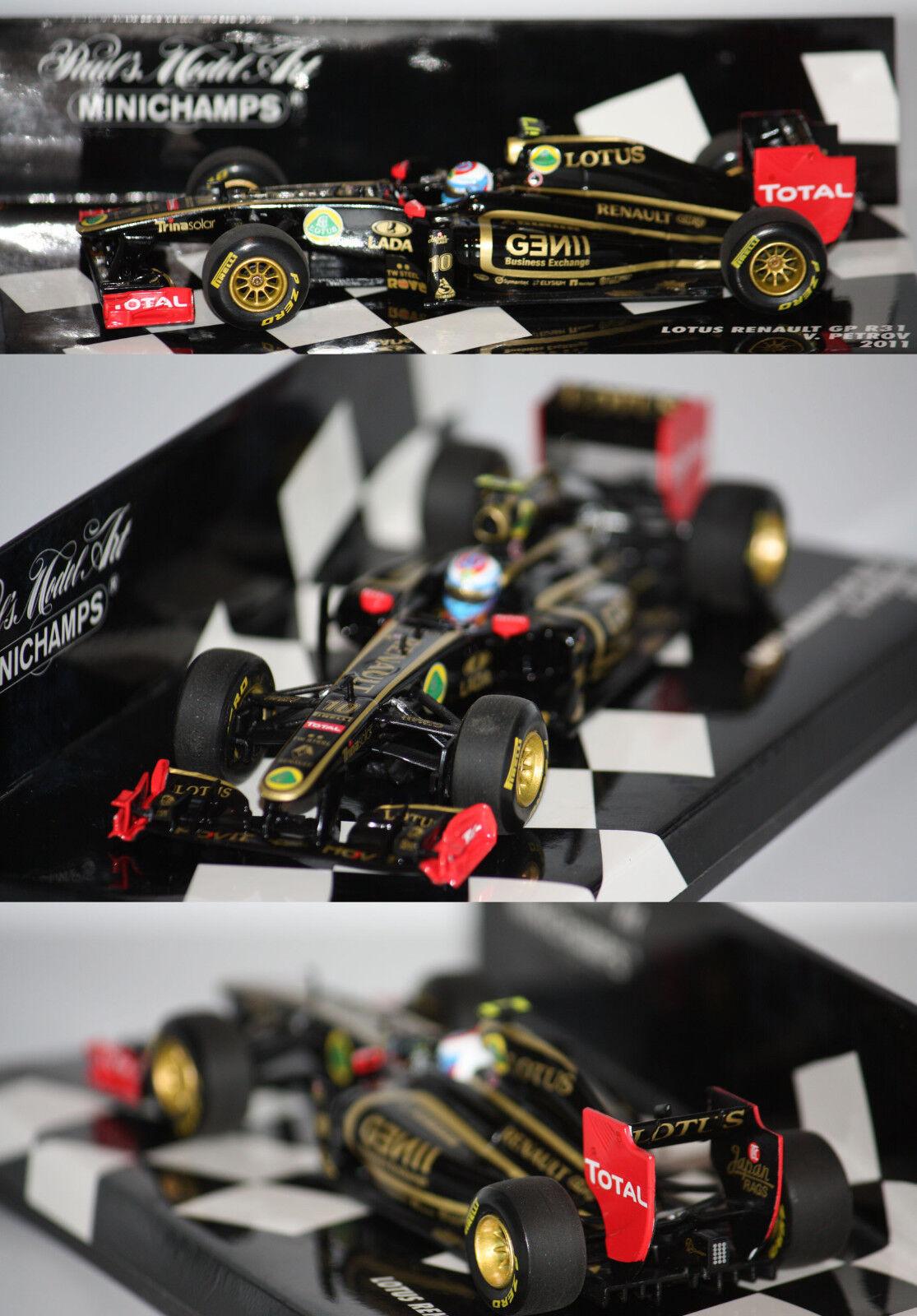 Minichamps F1 Lotus Renault Gp R31 2011V. Petrov 1 43 410110110