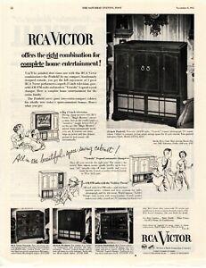 1952-ORIGINAL-VINTAGE-RCA-VICTOR-TELEVISION-MAGAZINE-AD