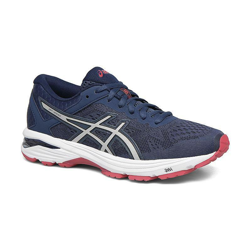 NIB Asics GT-1000 6 Gel Running shoes bluee Silver Red T7A9N-5093 Women's Sz 7-11