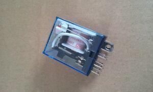 Relais-220-Volt-AC-Spule-2-Offner-oder-2-Schliesser-ETJQX-13F-220VoltAC-10-amp