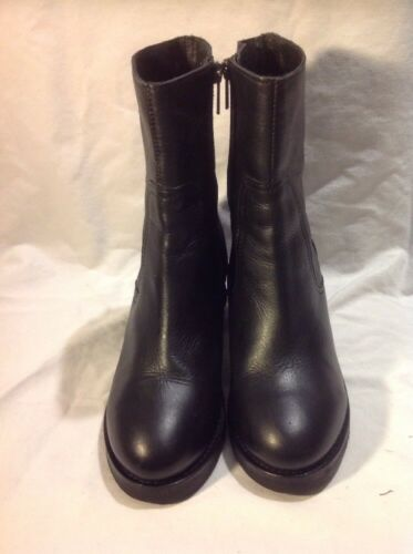 Boots Black Shop Ankle Top Size Leather 37 qI80nSwx