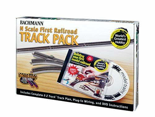Bachmann 44896 N Scale E-Z Track World/'s Greatest bby Track Pack