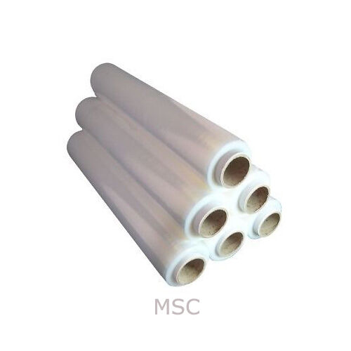 500mm x 250m 6 12 24 36 ROLLS OF CLEAR STRONG PALLET STRETCH SHRINK WRAP 25mu