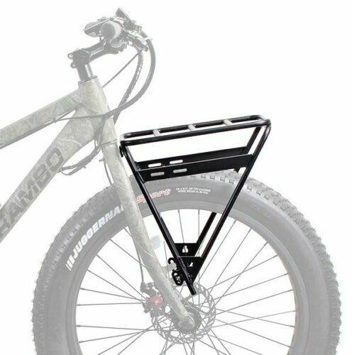 Rambo Bikes Front Luggage Rack R151 Bike Accessories Black