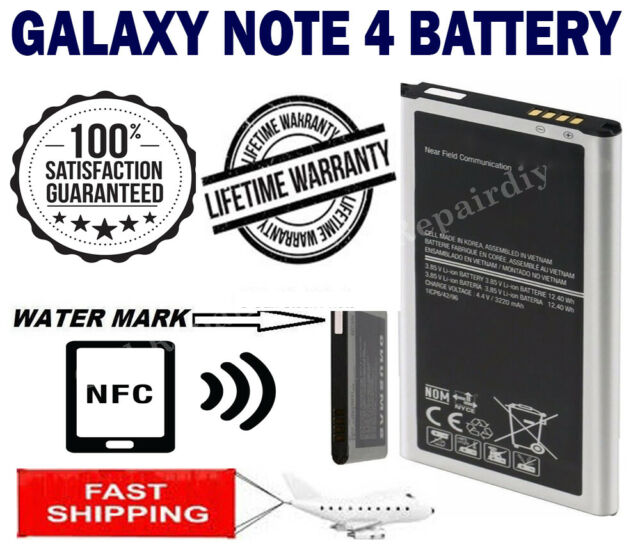 New Replacement Battery For Samsung Galaxy Note 4 BN910B SM-N910 N910A N910