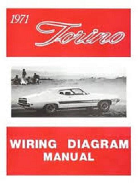 1971 Ford Ranchero Wiring Diagram Manual | eBay