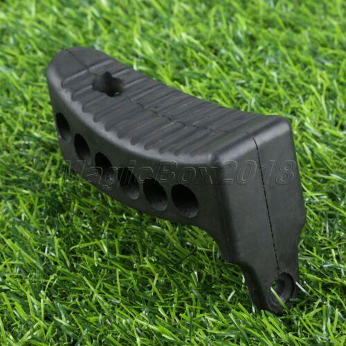 1pk Outdoor Hunting Butt Pad Rifle Shots Recoil Non-Slip Rubber Buttpad Black