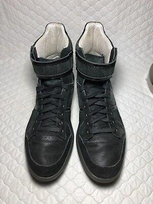 6f411962268bfa Puma Men s Rudolf Dassler Schuhfabrik Black High Top Sneakers Shoes Size-8