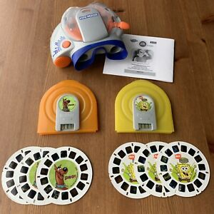 VIEWMASTER-Super-Sounds-Lot-3D-Reels-FX-Viewer-WORKS-SpongeBob-Scooby-Doo-Cases