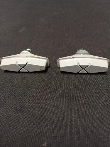 Nos FIBRAX SH-310 Gray Non Marking Brake Shoe//Pad bicycle Road Touring Mtb Bmx