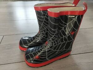 Spiderman Wellies Welly Rubber