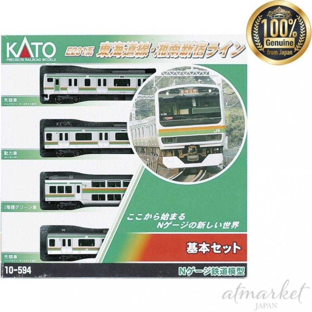 Kato N Gauge 10-594 E231 Tokaido Shonan-Shinjuku Line JR Series 4 Cars Set JAPAN