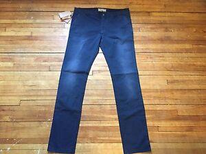 Italy In Zipper 8057419270045 S con 00 chino John casual Pantalone 52 cerniera Made 38 Galliano Blu 650 7BOnwq