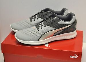 52a8257f6a7 Puma IGNITE v2 Men Running Shoes Quarry-Asphalt-Silver Size 12 NIB ...