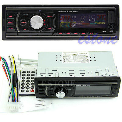 Car Practical Stereo In-Dash MP3 Music Player Radio FM USB SD AUX Input Receiver