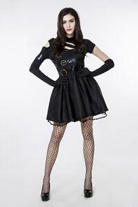 Rock Look Halloween Robe Punk Déguisement Ladcos12 Soirée Femmes Ebay fBEqdwcAdx