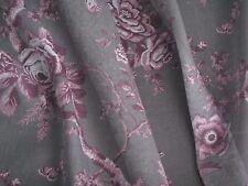"""RALPH LAUREN CURTAIN FABRIC """"Ashfield Floral Voile"""" 3.6 METRES VINTAGE BLUSH"""