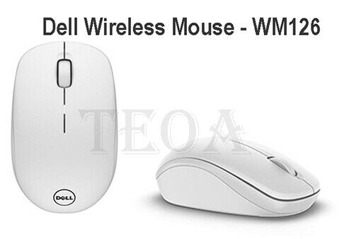 Dell Consumer N8yxc Wm126 Wireless Mouse White For Sale Online Ebay