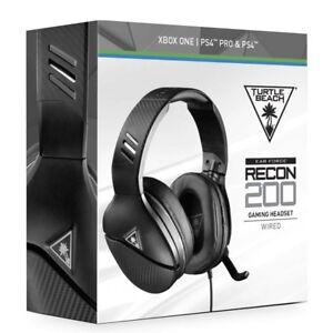 Turtle-Beach-Recon-200-Gaming-Headset-Headphones-Black-Playstation-4-Pro-PC
