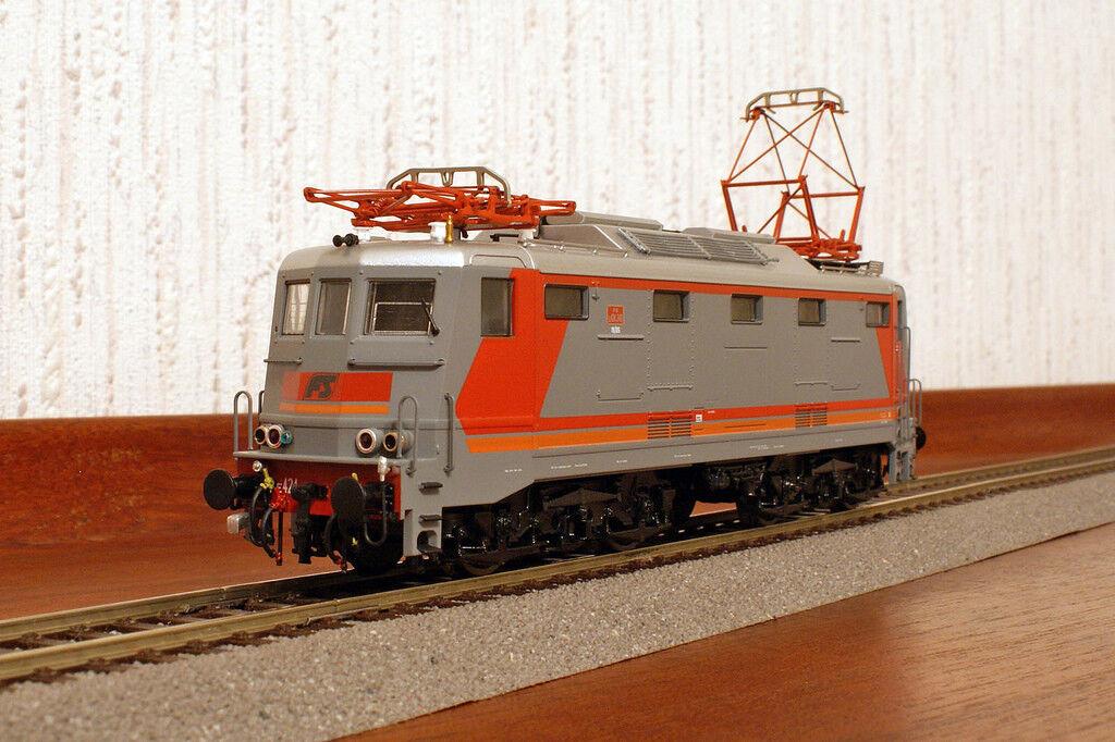 Lima  208372LP locomotore elettrico FS E424.348 - livrea MDVC - cardanica -