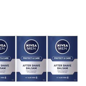 100ml-6-66-3x100-ml-NIVEA-MEN-Protect-amp-Care-After-Shave-Balsam-Aloe-Vera