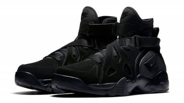 NIB Men's Nike AIR UNLIMITED RETRO Flight Soldier ROBINSON Shoes 889013 002 Blk