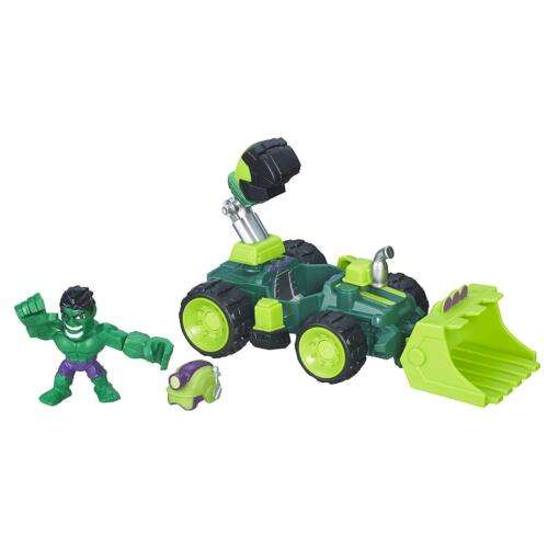 Marvel Super Hero Mashers Micro Hulk Smash-Dozer
