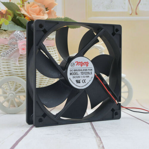 TONON TD1225LS 12V 0.18A 120*120*25mm 2Pin Cooling Fan