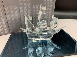 Swarovski-Figurine-Crystal-162882-Santa-Maria-4-1-2in-Boxed-amp-Certificate