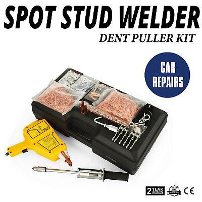 VEVOR 230v Welder With Slide Hammer,Dent Puller Panel Repair,1600A Spot Stud Weld Welder Dent Puller Kit For Car Body Panel