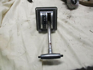 1965-1966 Ford Mustang CROUISE-O-MATI<wbr/>C SHIFTER HOUSING  PARTS ONLY