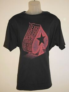 Cremieux-Mens-T-Shirt-XL-Charcoal-Gray-Texas-Hold-Em-Las-Vegas-NWT