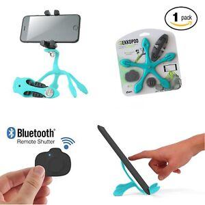 Gekkopod-Pro-Flexible-Smartphone-And-GoPro-Tripod-Bluetooth-Selfie-Remote-Lot