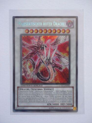 Espectáculo rojo dragón ct07-de001 Secret rare edición limitada