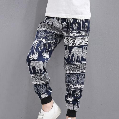 Kids Pants Trousers Thin Jogger Fashion Children Pants Loose Harem Jogger