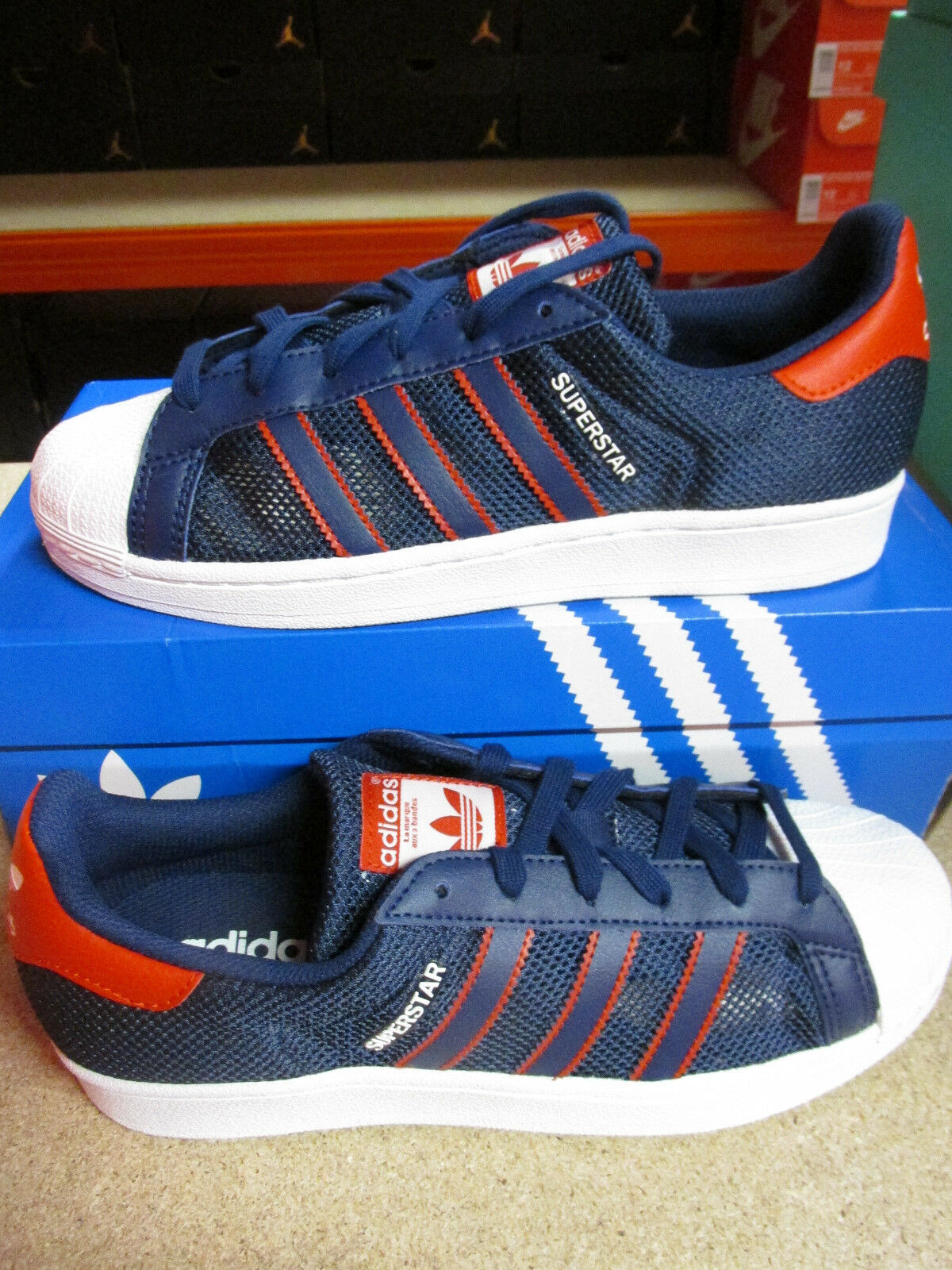 Adidas Originals Superstar hommes BB5395 Trainers Sneakers Shoes