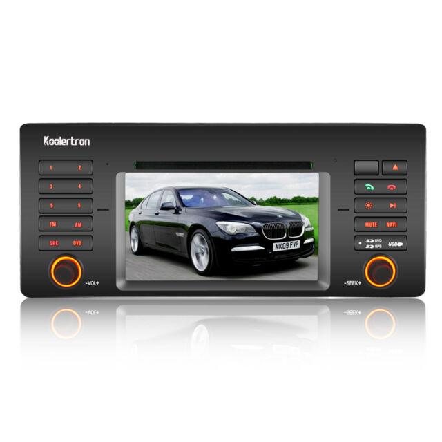 For BMW 5 Series E39 E38 E53 X5 M5 Car DVD Player GPS Navi Radio Stereo Systems