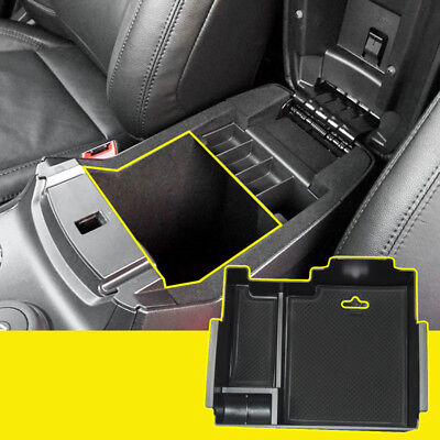 Console Armrest Storage Bin Box Tray Container For Ford Explorer 2011-2017 ABS