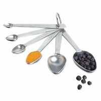 Amco Measuring Spoons, Set Of 6 , New, Free Shipping