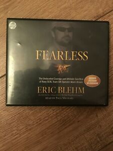 Details about Fearless The Courage & Ultimate Sacrifice of Navy Seal Team  Six 8 CD Audiobook