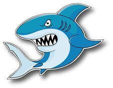 FUN GREAT WHITE SHARK DECAL STICKER SHARK WEEK FISH WATER