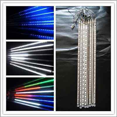 Outdoor 30cm 50cm 80cm Meteor Shower Rain  LED String Light Christmas Garden
