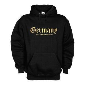 02d Walk con wms01 Never Germany cappuccio Alone Felpa Kapuzenpulli Kapuzensweat fHxz7Eqw4n