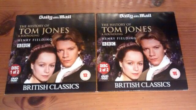 The History of Tom Jones 2-Disc Promo DVDs  PETER CAPALDI Brian Blessed