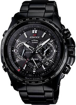NEW Casio EQWT720DC-1A Edifice Solar Multi-Band Atomic Chronograph Watch