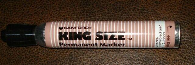 Vintage Sanford King Size Marker Very Fresh! Smelly Ink Red