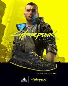 Details about Adidas Cyberpunk 2077 X9000 FY3140 4D Nmd R1 Réhausseur Chaussures Homme Limité